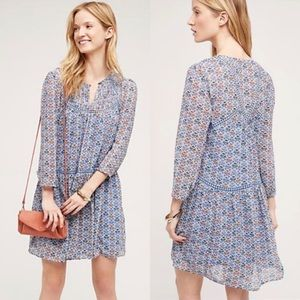 Anthropologie Holding Horses Boho Swing Dress